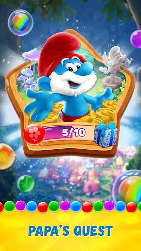 Smurfs Bubble Shooter Story screenshot 7
