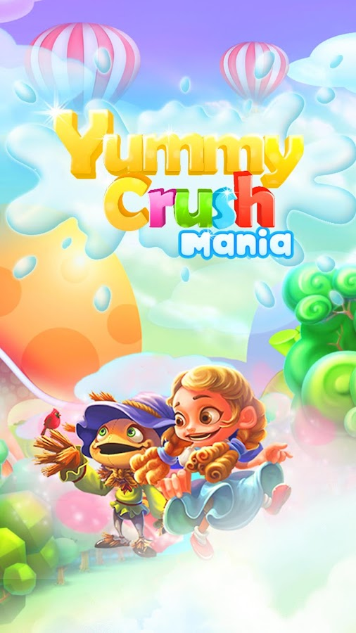 Yummy Crush Candy - Match 3 with Gummy Candies Screenshot 14