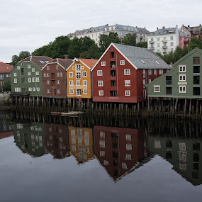 Trondheim, Norway  by Vinchel Budihardjo - Travel Locations Landmarks
