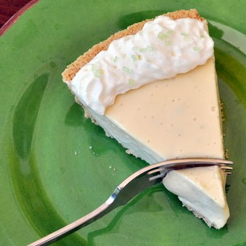 Cream Cheese Key Lime Pie