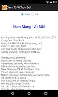 Screenshot of Lich Van Nien   Am Lich