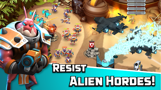 Alien Creeps TD APK for Bluestacks