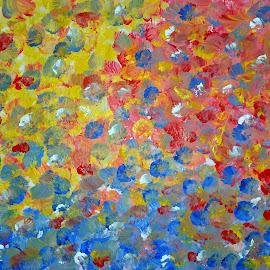 SUMMER FLOWERS by Zoritza  Wejnfalk - Painting All Painting ( modern art, abstract art, abstract flowers, zoritza, wejnfalk )