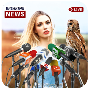 Download Breaking News Photo Frame For PC Windows and Mac