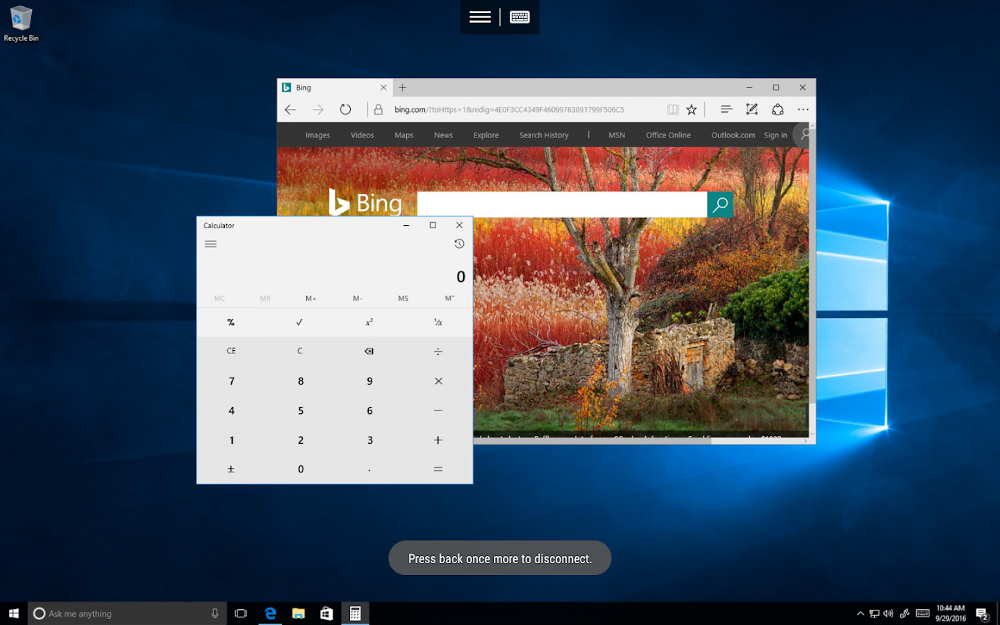 Microsoft Remote Desktop Beta Screenshot 7