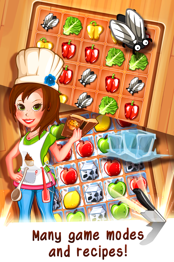 Tasty Tale:puzzle cooking game Screenshot 1