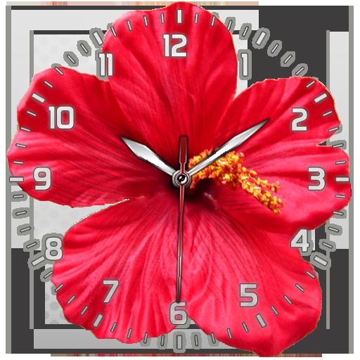 Flower Clock Live Wallpaper (app)