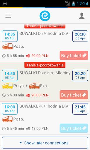 e-podroznik.pl screenshot 3