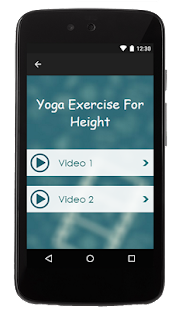 Yoga Exercise For Height - screenshot