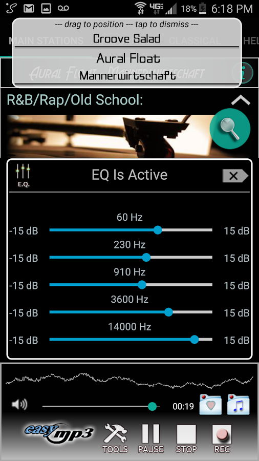 Internet Radio Recorder Pro Screenshot 2