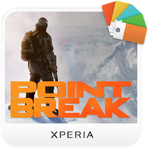 XPERIA™ Point Break Theme