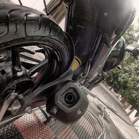 Yamaha FZ16 by Arjun Vjy - Transportation Motorcycles