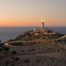 Cape Formentor Lighthouse by Jürgen Mayer - Landscapes Waterscapes ( leuchtturm, kap, cape, lighthouse, spanien, mallorca, formentor, spain )