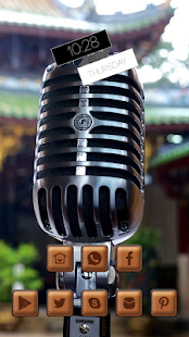Professional Silver Microphone - screenshot