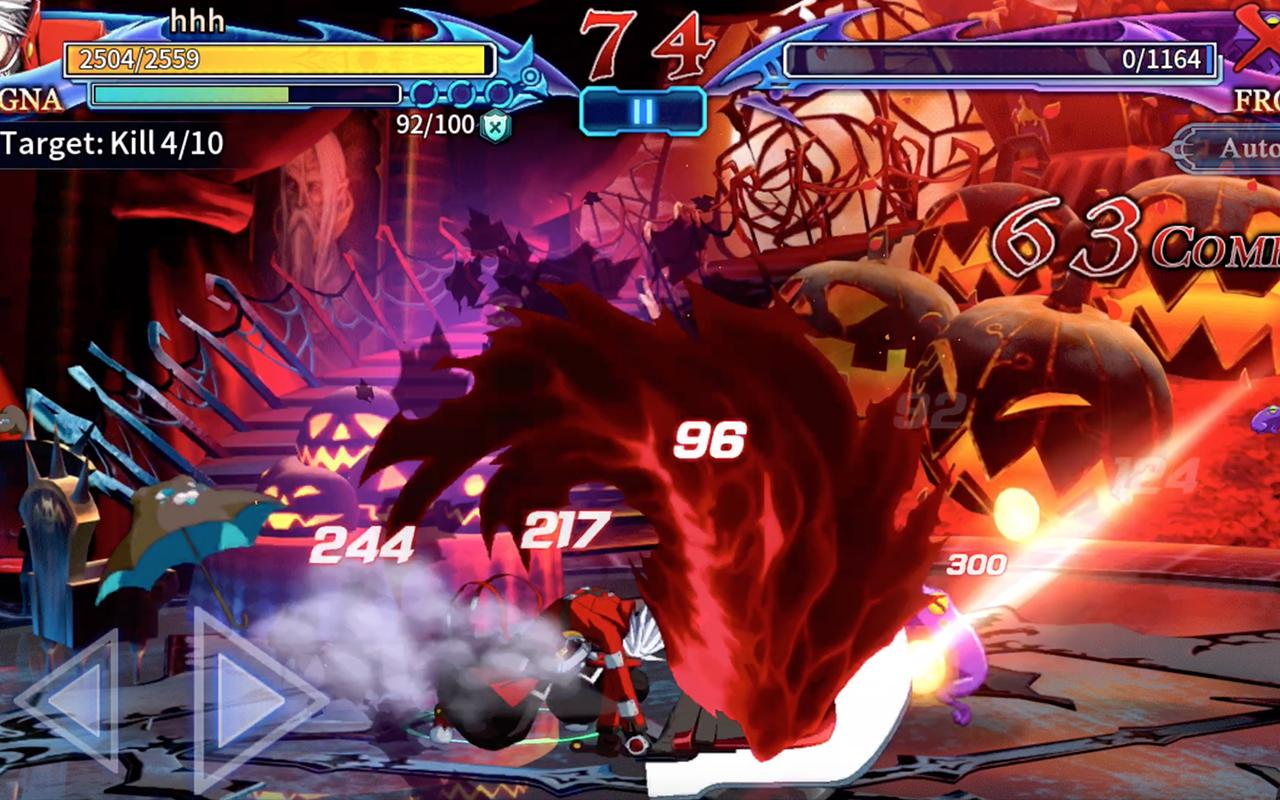 BlazBlue RR - Real Action Game Screenshot