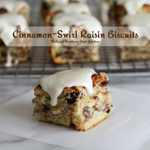 Cinnamon Swirl Raisin Biscuits