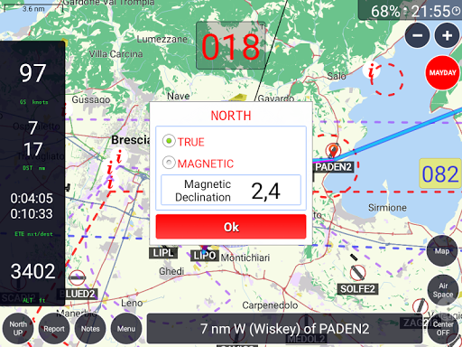 GPS Air Navigator - screenshot