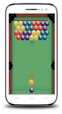 android Piscine 8 Ball Shooter Screenshot 2