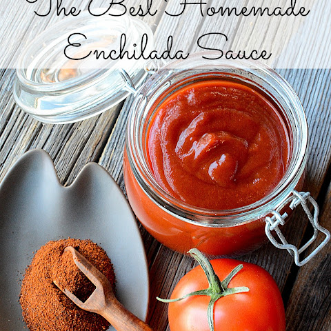 The Best Homemade Enchilada Sauce