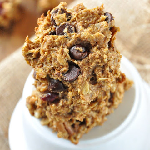 Low-Sugar And Whole Wheat Pumpkin Cookies With Almonds And Coconut Oil ...
