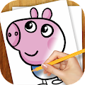 Free Learn to Draw Peppa Pig APK for Windows 8