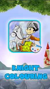 Knight Colouring - screenshot