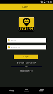 TaxiAppy - screenshot