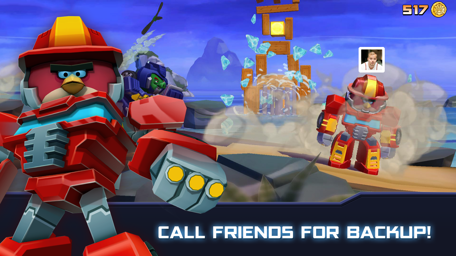 Angry Birds Transformers Screenshot 9