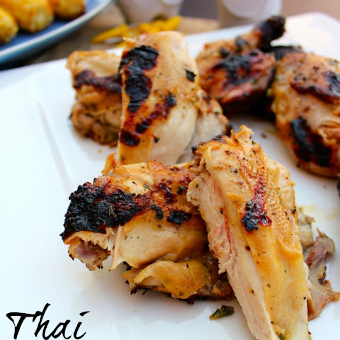 [ad] Thai Barbecue Cornish Hens