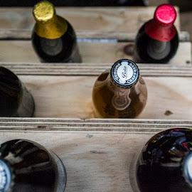 Bottlecaps by Marliesa Van Dyk - Food & Drink Alcohol & Drinks