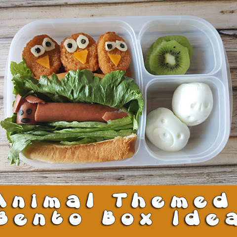 Animal Themed Bento Box Idea