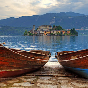 San Giulio, Lake Orta by Joana Kruse - Travel Locations Landmarks