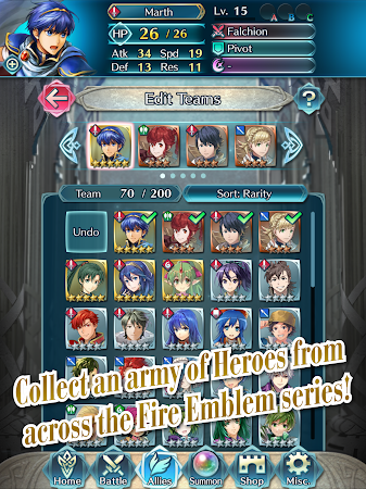 Fire Emblem Heroes 1.0.2 screenshot 674359