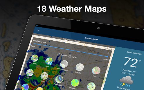 Download Full WeatherBug - Forecast & Radar  APK