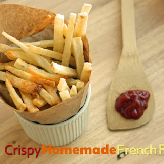 Super Crispy Homemade French Fries