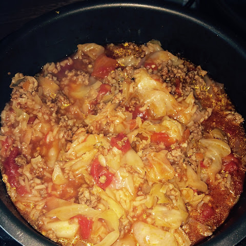 Cabbage Roll Soup – in the pressure cooker!