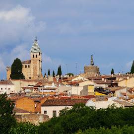 Toledo View I by Joatan Berbel - City,  Street & Park  Vistas ( spain, view, paysage, vista, architectural, colorful, street photography, toledo )