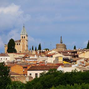 Toledo View I by Joatan Berbel - City,  Street & Park  Vistas ( spain, view, paysage, vista, architectural, colorful, street photography, toledo )