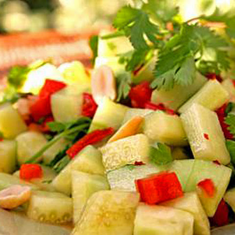 Thai Cucumber Salad Recipe | Yummly