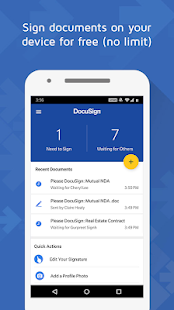 DocuSign - Upload & Sign Docs for pc