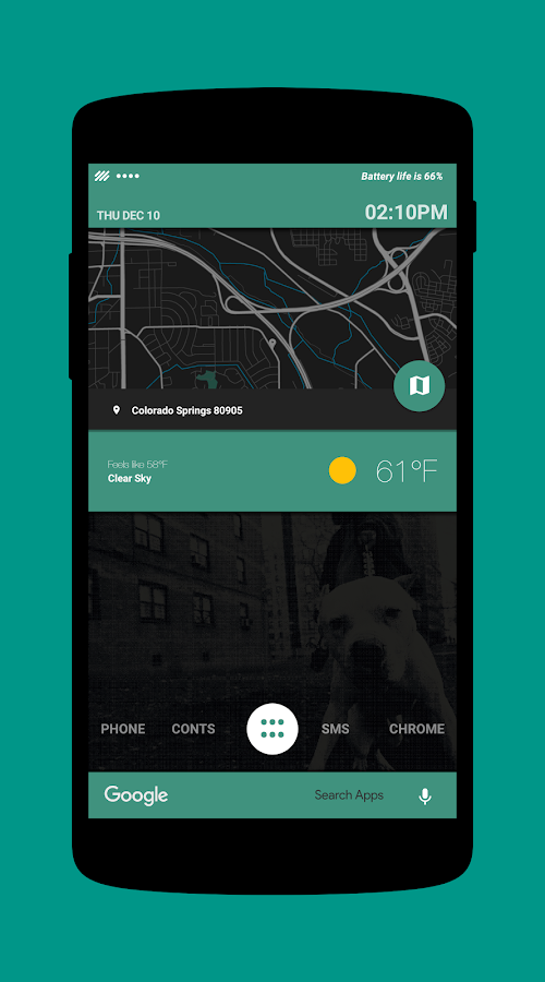 City Bound for KLWP Screenshot 5