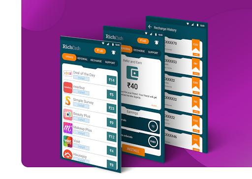 RichCash free recharge screenshot 1
