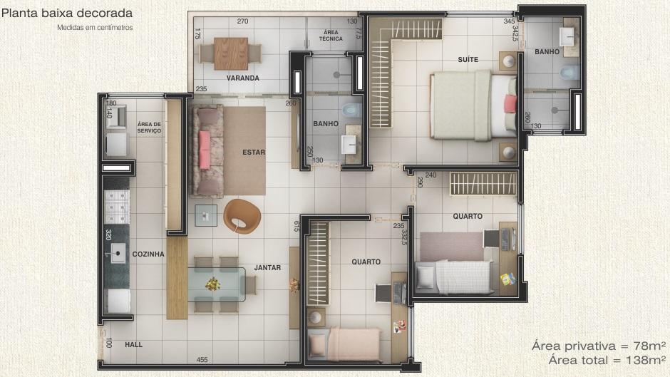 Apartamento residencial à venda, Centro, Uberlândia.
