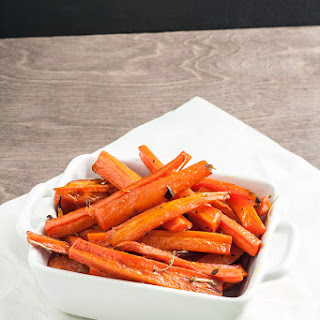 Honey and Thyme Roasted Carrots