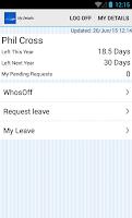 Screenshot of WhosOff.com