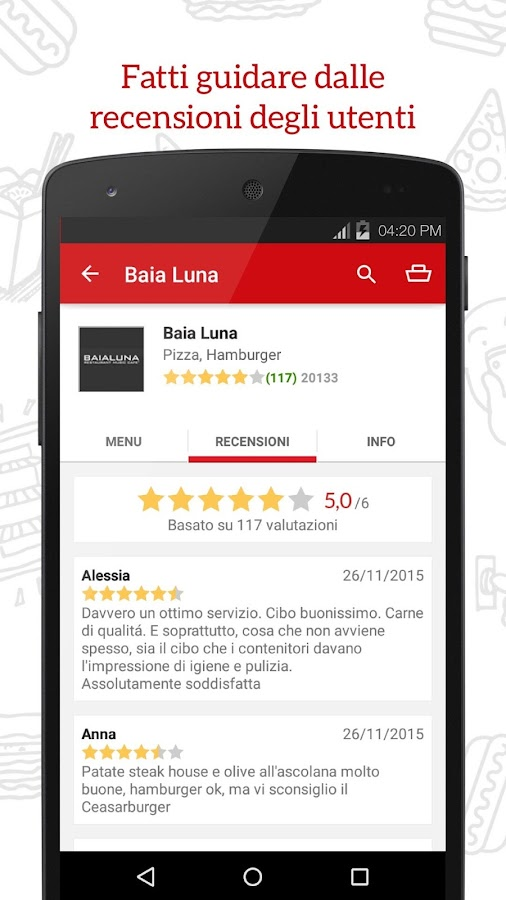 JUST EAT - Pizza a Domicilio Screenshot 3