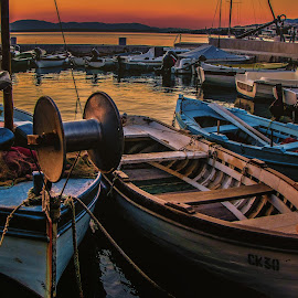 in the port by Eseker RI - Transportation Boats (  )