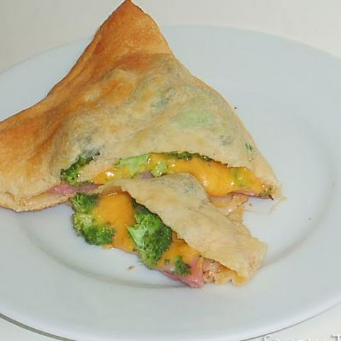 Ham, Cheese, and Broccoli Turnovers
