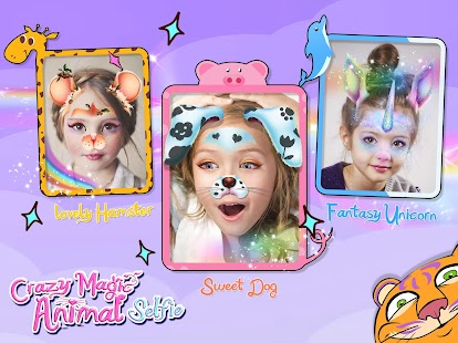 Crazy Animal Selfie Lenses for pc