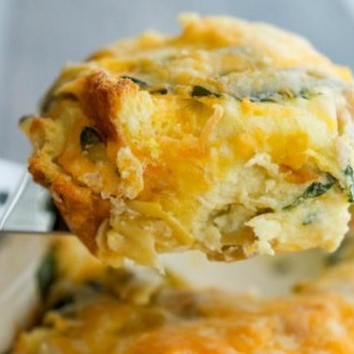 Spinach Artichoke Breakfast Strata Recipe | Yummly